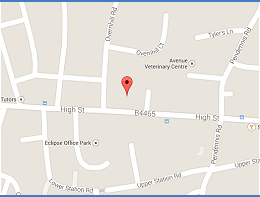 Staple Hill Dental Surgery Map
