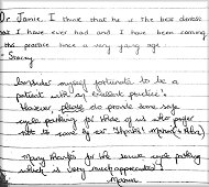 Staple Hill Dental Patient Comment